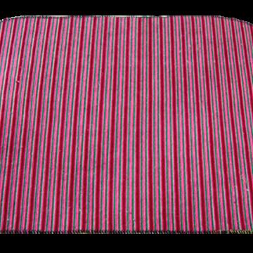 Alfombra festonada 4 colores