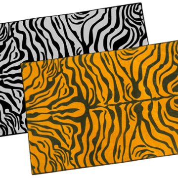 Alombra Animal Print Festonada